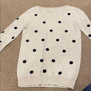 Jcrew 3/4 length sweater